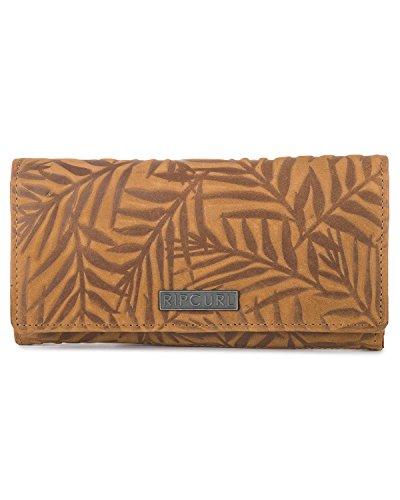 Rip Curl Las Palmas RFID Lthr Wlt - Pinza para Billetes (19 cm), marrón (Marrón) - LWLCQ1