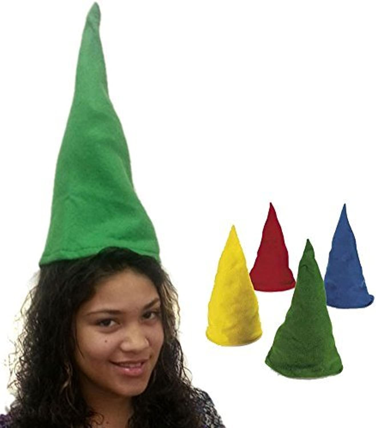 a precios asequibles Felt Gnome Hats - Set Of Dozen Felt Gnome Hats Hats Hats In Assorted Colors by Funny Party Hats  tienda de venta