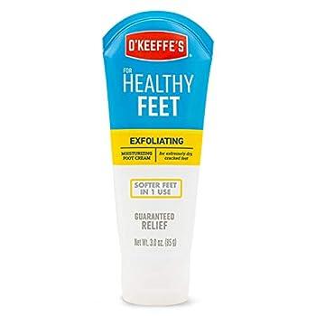 O Keeffe s K0400008 Healthy Feet Exfoliating Foot Cream 3 ounce Tube