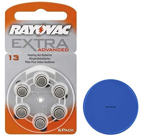 Rayovac 13 Hörgerätebatterien 13AE HA13 R13AE + Online-Sale-Shop Einkaufswagenchip