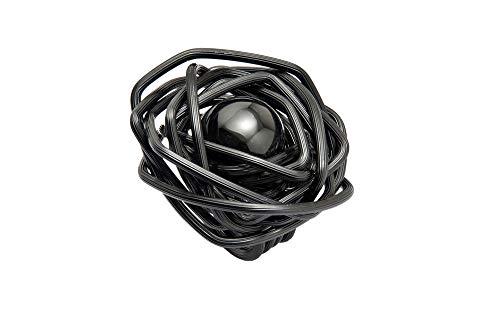 Paulo Bordhin Anillo Black Turmaline Sphere'