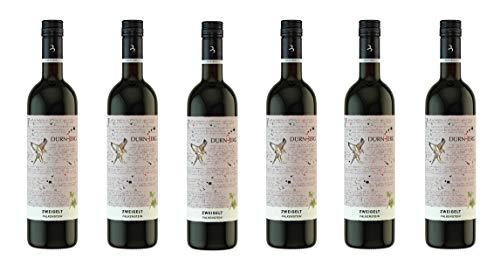 Zweigelt, Falkenstein 2018 - Qualitäts Rotwein aus Österreich, trocken (6 x 0,75l)