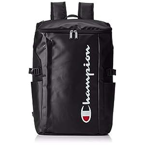 [チャンピオン] リュックサック バケット MODEL.NO.62487 30L B4サイズ収納可 ウィメンズ ボックス型 大容量 ブラック/ホワイト