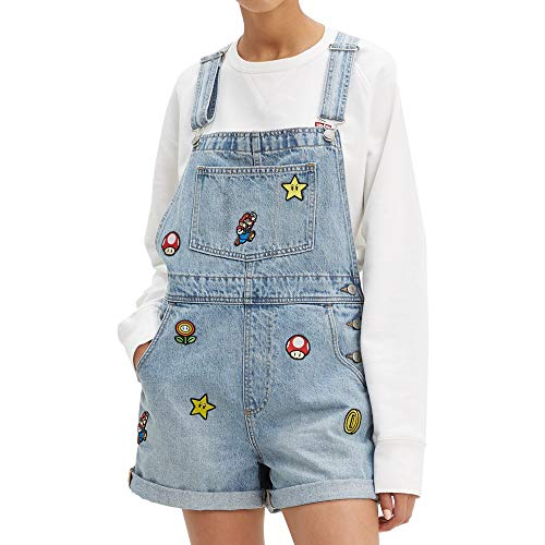 Levis x Super Mario Vintage Shortall Power Up S