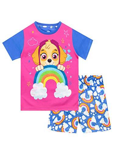 Paw Patrol Pijamas la Patrulla Canina de Manga Corta para niñas Skye Multicolor 18-24 Meses
