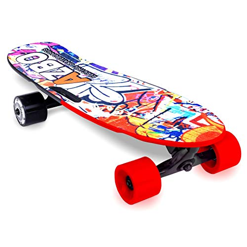 Electric Skateboard Longboard with Remote Control | 400W | UL2272 Certified/Motorized Powered Board...