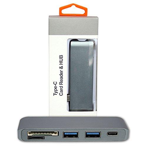 Ultimaxx USB 3.0 TYPE-C HUB-GR