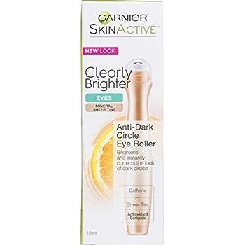 Garnier SkinActive Clearly Brighter Tinted Eye Roller, Light/Medium, 0.50 Ounce