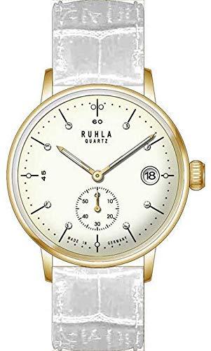 Garde Ruhla Classic 76113WS - Reloj de pulsera para mujer (correa de piel, 36 mm)