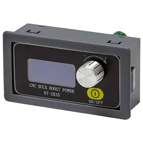 ZHITING DC 9V 12V 24V 4A fuente de alimentación variable 5-30V a 0.6-30V convertidor de potenciador de buck ajustable, banco portátil módulo regulador de corriente estabilizado