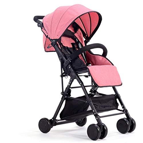 LYP Triciclo Bebé Trolley Trike Cochecito de bebé Ligero Plegable para Viajes en avión Carruaje de bebé Ultraligero para niños para niños Recién Nacidos Baby shotchair (Color : #1)
