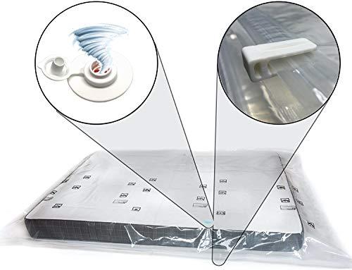 Sirena - Vakuumbeutel für Matratze mit auslaufsicherem Ventil. Vakuum-Aufbewahrungsbeutel