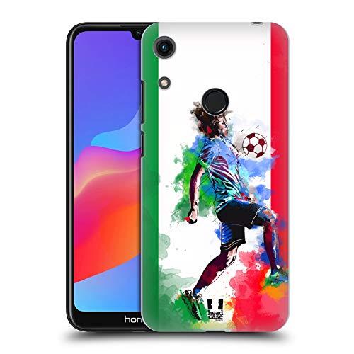Head Case Designs Italia Calcio Splash Cover Dura per Parte Posteriore Compatibile con Huawei Honor 8A