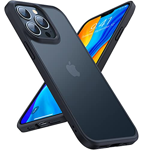 TORRAS Shockproof Compatible for iPhone 13 Pro...