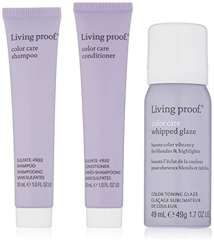 Living Proof Cuidado Del Color Del Cabello Kit De Inicio Para Rubios & Mechas Sin Descaros