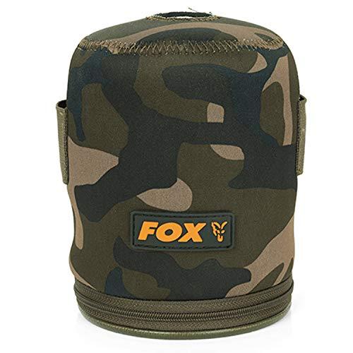 Fox Camo Gas Cannister Cover - Tackletasche für Gaskanister, Angeltasche für Gasflasche, Tasche für Gas Flasche