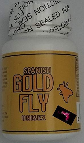 Spanish Gold Fly 24ct Erotic Energy Natural Libido Booster Male / Female Enhancement Plus Love Potion Pen