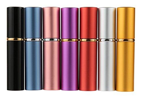 MINGZE 7 Piezas 10ML Atomizador del Perfume, rociador Botellas de Perfume, Carcasa...
