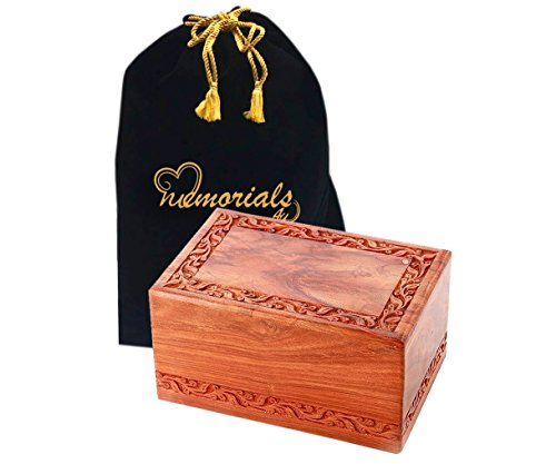 Rosewood Wooden Burial Box