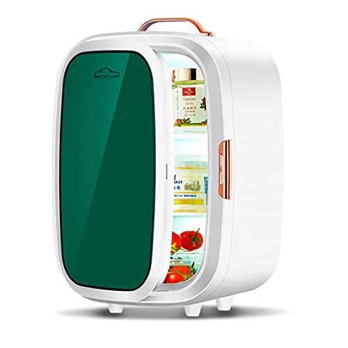 Mini Refrigerador para Automóvil De 20 litros Refrigerador para Automóvil Y Doméstico Refrigerador De Belleza Uso Dual Frío Y Caliente Rejilla De Tres Capas A Prueba De Fugas Y A Prueba De Derrames