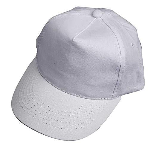 CREATIV DISCOUNT® NEU Baseball-Cap für Kinder, weiß