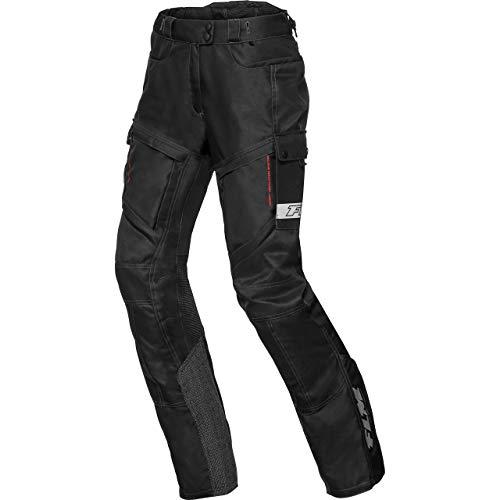 FLM Motorradhose Sommerreise Damen Textilhose 1.0 schwarz XL, Enduro/Reiseenduro