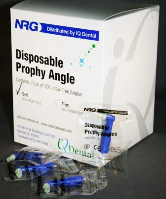 Seasonal Wrap Introduction NRG Disposable Prophy Angles Firm Pkg Max 60% OFF Bulk Cup-White 500