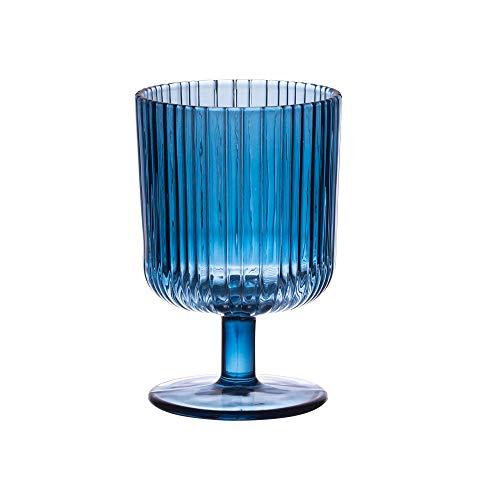 Table Passion - verre à pied milre bleu 25 cl (lot de 6)