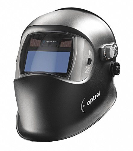 e670 Series, Auto-Darkening Welding Helmet, 9 to 13 Lens Shade, 3.94' x 1.97' Viewing AreaBlack - 1...
