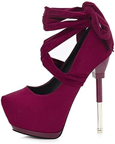 FLYRCX La Pointe de la Mode Mode Talons à lanières étanche Sexy Lady Chaussures Parti individuels  marque de luxe