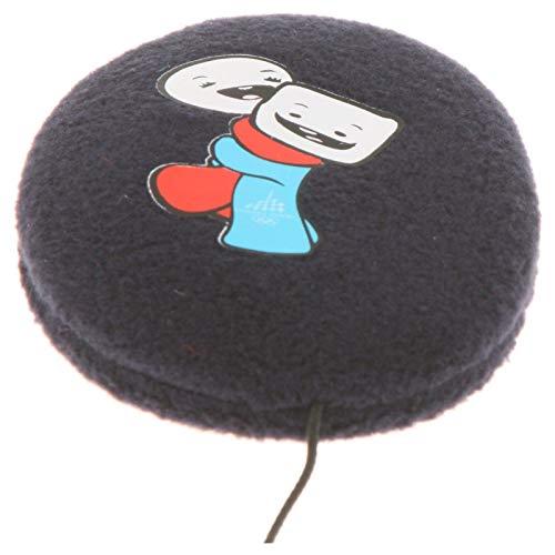 Earbags für Kinder Ohrenwärmer Ohrenschützer Mütze Mit Clip Schnur Stirnband Warme Ohren Original, 824, Farbe Gliz & Neve Marineblau, Größe S