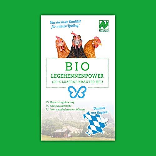 Falter´s Bio Legehennenpower - Luzerne-Kräuter Mix - Qualität aus Bayern - ohne Zusätze (20kg)