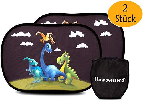 Hannoversand Parasol para las ventanas laterales del coche para bebés con protección UV para coche (2 unidades)