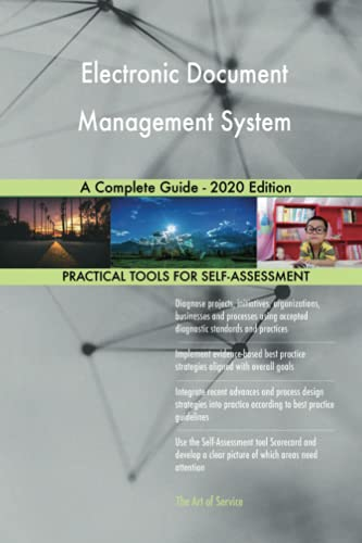 Compare Textbook Prices for Electronic Document Management System A Complete Guide - 2020 Edition  ISBN 9780655927556 by Gerardus Blokdyk