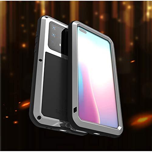 WALCD Metalen waterdichte hoes Schokbestendigebeschermhoes Aluminium Beschermglas | Hoeslaken, voor Huawei P40 Pro P40