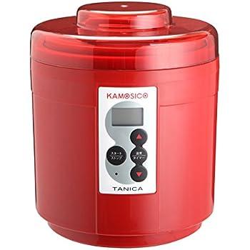 TANICA 醸壺(カモシコ) 温度調節(25~65℃) 発酵食メーカー 1200ml KS-12R