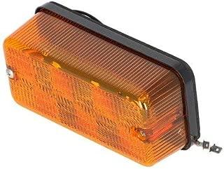 LED Tail Light - 12V - 24V 3W Flasher Amber Case IH 2166 2388 2188 1660 1688 7120 2366 1680 1640 Versatile International 3688 986 Hydro 186 1486 1460 1086 886 786 1480 1586 McCormick New Holland Ford