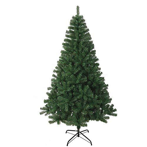 NEW KEPLIN GREEN ARTIFICIAL CHRISTMAS TREE 4FT - 5FT - 6FT - 7FT (5FT (1.5m))