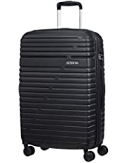 American Tourister Aero Racer Spinner 68 Expandable - 3.6 Kg Bagaglio a Mano 75.5 Liters, Nero (Jet Black)