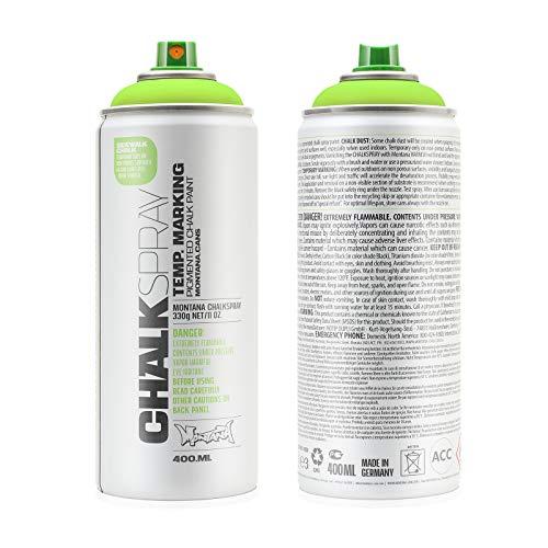 Montana Cans Montana Chalk Color Spray Paint, 400 Ml, Green