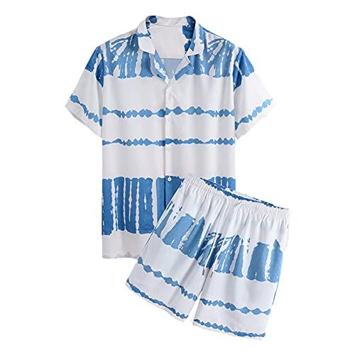 SSBZYES Camisa para Hombre Verano De Manga Corta Traje Casual para Hombre Camiseta De Manga Corta Camisa...
