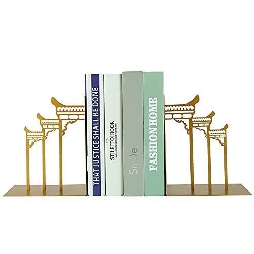 ASDF Libri di Architettura Antica,Casa Studiare Scrivania Ufficio Reggilibri Ornamenti Decorativi Reggilibri (Non Compresi I Libri)-A 15 * 17cm/5.9 * 6.6inch