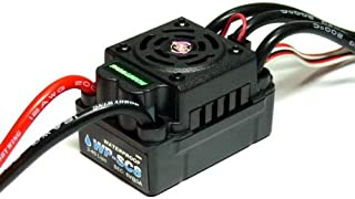 HOBBYWING EZRUN WP SC8 Waterproof 120A Brushless ESC Speed Controller SL564 with RCECHO Full Version Apps Edition