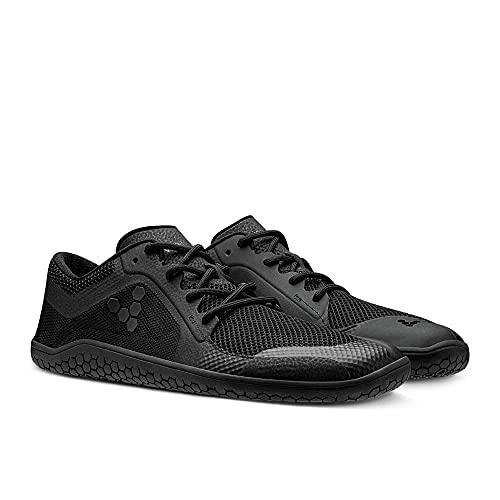Vivobarefoot Primus Lite Womens, Vegan Light Movement Breathable Shoe with Barefoot Sole Obsidian Black