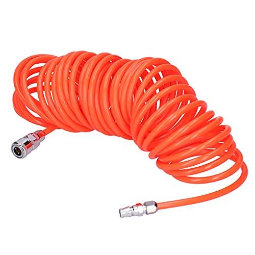 Tubo de aire de PE, tubo de aire de 5/9/12 metros estable con conector para tubo de escape de ventilación del compresor(12 meters)
