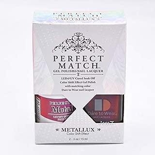 Lechat Perfect Match Gel Polish + Nail Polish Metallux Collection MLMS10 Phoenix Rise