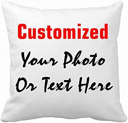 Helyou Custom Pillowcase Design Photo or Text Outdoor Indoor Throw Pillowcase Personalized Decor product image