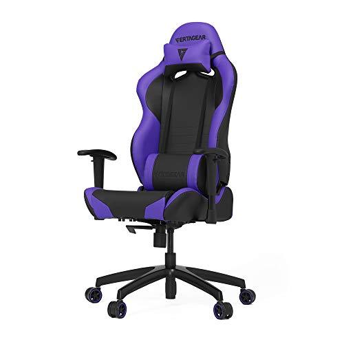 Vertagear S-Line 2000 Racing Series Gaming Chair, Large, Black/Purple