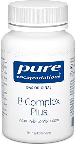 Pure Encapsulations - B-Complex Plus - Aktivierte B-Vitamine mit Metafolin für eine verbesserte Aufnahme - 60 vegane Kapseln