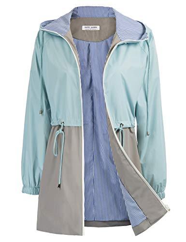 ladies hooded raincoat - 9
